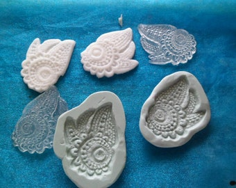 silicone molds feathers lace dream catcher dreamcatcher for fimo wepam