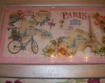 "Great frame for lovers of the ""PARIS"""