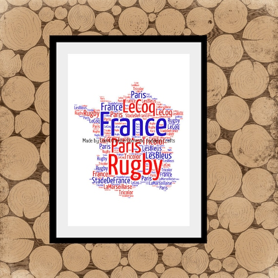 Map of france word art personalised map of france map word gumiabroncs Choice Image