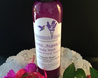 Exotic Argan II Body Wash - Coconut French Vanilla