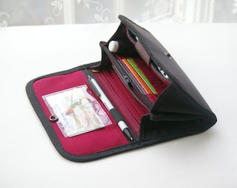 PEN LOOP   for your wallet.  Customize your wallet, custom wallets customize wallets, custom made wallets