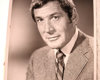 "7""x8"" Photo Release of Gene Barry The Name of the Game NBC"