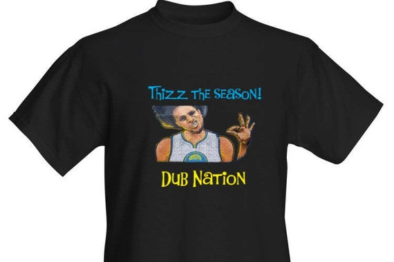 Steph Curry Thizz the Season! Dub Nation Men's T-Shirt 2wjEr