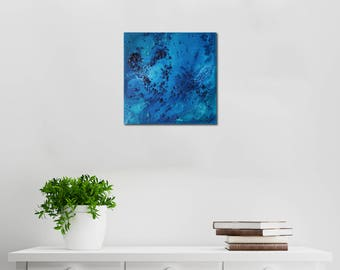 Ocean Floor // Abstract Artist Charlie Albright // From Moments by Charlie BLOG & Online Shop