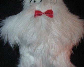 Geek Nerd Yeti Plush Stuffed Animal
