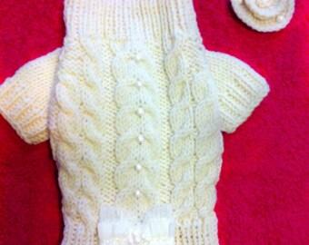 Dog sweater.Dog clothes.Dog coat,desinger dog clothes, clothes for dog