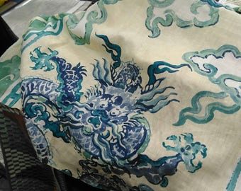 Jim Thompson Enter the Dragons Chinoiserie 20 Inch Cushion Pillow Cover