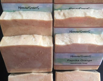 Handmade Soap — Paprika Orange