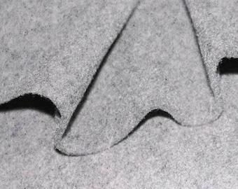 20cm fabric felt 3mm gray clear Melee width 90cm
