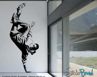 Vinyl Wall Decal Sticker Break Dancer 2  AC165s