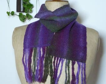 handwoven scarf - Acharnement