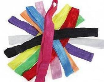 Choice of colour elastic heaband