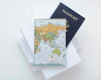 Cute alpaca passport case id cover sleeve passport wallet leather passport cover leather passport cover vintage map travel wallet leather pass case watercolor leather passport gumiabroncs Image collections