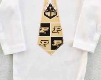 Purdue Tie Bodysuit
