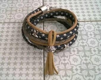 Wrap bracelet ⭐ star ⭐