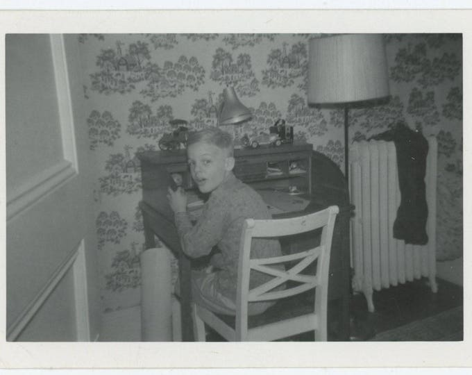 Vintage Snapshot Photo, Randy, 1961 (710611)