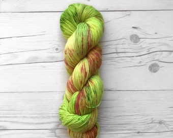 """Maven Sock - """"Shock it to Me"""" - Fingering weight - Hand Dyed Yarn"""