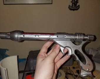 Custom painted Mandalorian blaster