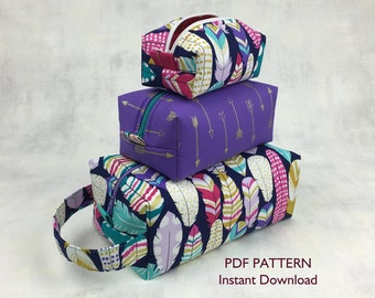 Box Bag Downloadable PDF Pattern
