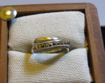 two rings on this piece marked 925 silver
