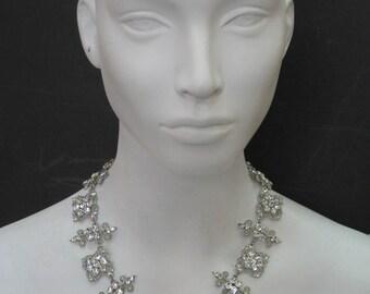 Garden Goddess - Swarovski Crystal Silver Plated Necklace 5656