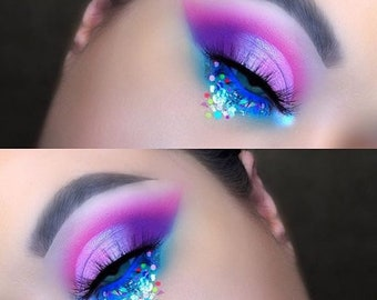 Rainbows And Cupcakes | Face, Hair & Body Glitter | Festival Glitter Mix | Loose Chunky Festival Glitter | Glitter Mix | Limited Edition