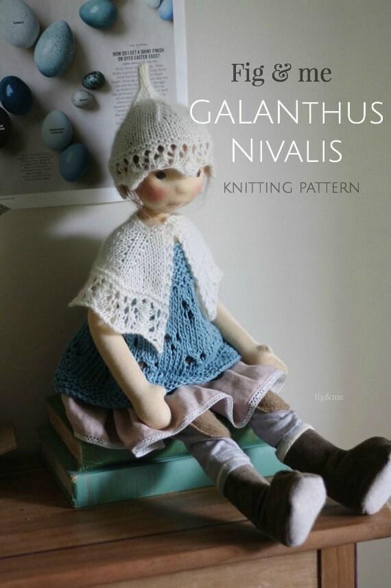 PDF Knitting Pattern Doll Clothing Pattern Waldorf Inspired