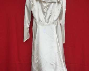 1951 Vintage Wedding Dress Made by the Bride Herself!