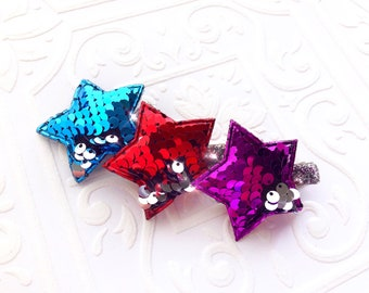 The Sequin Reversible Stars- Your Color Choice