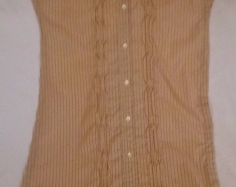 Clothing Protector - Orange pinstripes