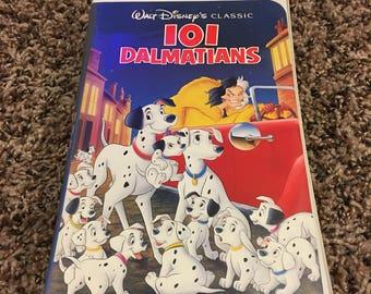 Black Diamond Disney 101 Dalmatians - Vintage VHS