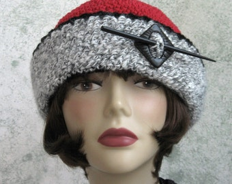 Womens Victorian Style Crochet Hat Pattern With Large Brim  Instant Download
