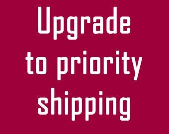 Prority Shipping Upgrade