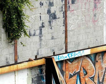 Urban Art Graffiti Print, Urban Photography Graffiti Art for Men, Street Photography, Graffiti Wall Art, Philadelphia Photography Street Art