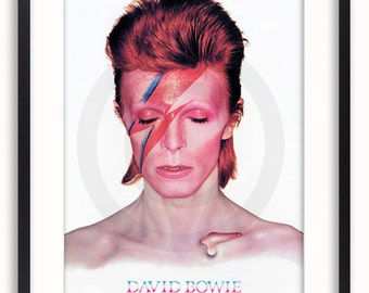 David Bowie - Aladdin Sane - GB Eye - Licensed Poster