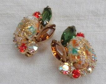 Juliana Easter Egg Rhinestone Earrings