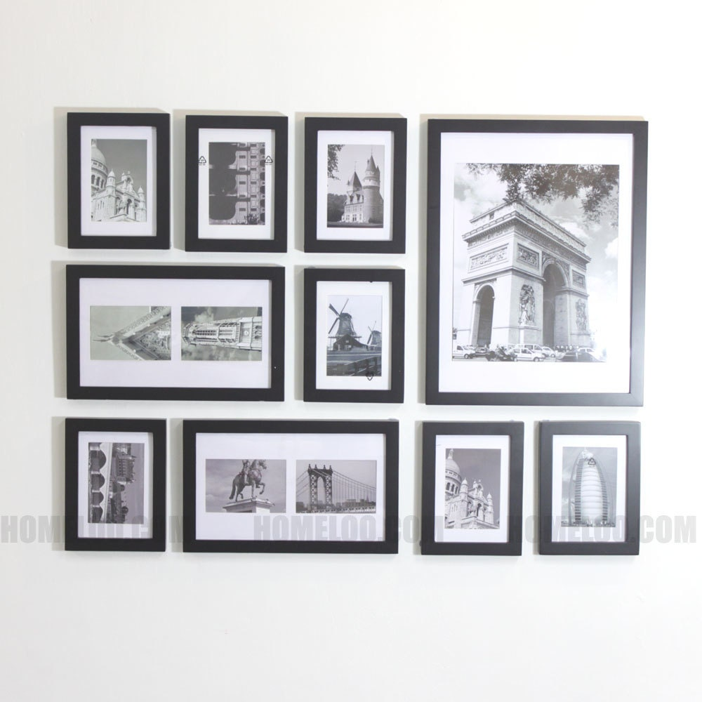 Photo picture frame set modern 10 zoom jeuxipadfo Image collections