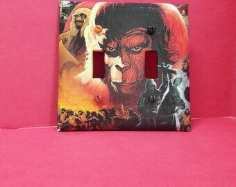 Planet of the Apes Double Switch Plate
