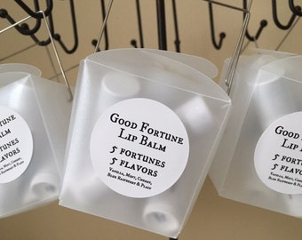 Good Fortune Lip Balm (5 pack)