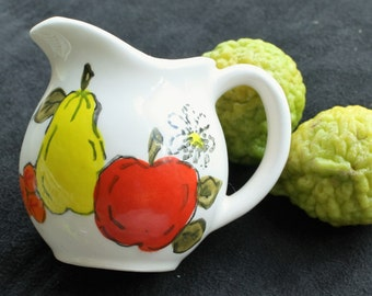 Milk or Cream Jug - Hand Painted by Musako of Japan