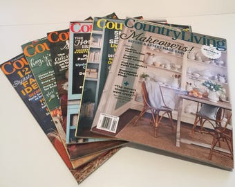 Country Living Magazine Various Issues