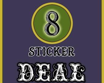 8 Sticker Combo Deal !!
