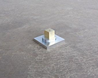 Incense Holder Metal Art Object Minimalist Decorative Art