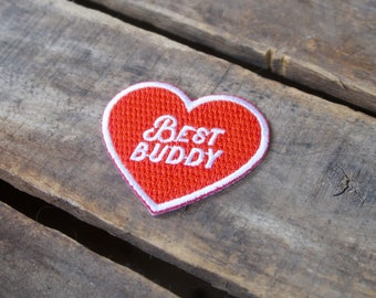 Best Buddy Embroidered Merit Badge