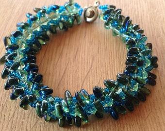 Coastal Soleil Beaded Bracelet