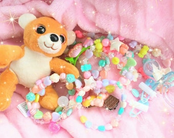 Kawaii Grab Bag - Little Girls - Fairy Kei - Sweet Lolita - TinselTrinketsbyTiff Lucky Pack - Gift - Cute Jewelry - Pastel - Surprise Pack