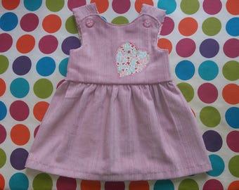 Handmade Crossover Pinafore Dress
