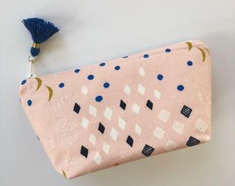Essential Oil Bag / Essential Oil Pouch, Oil Storage Bag, Essential Oil Travel Bag / Pink Oil Bag