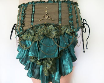 Victorian Bustle Belt - festival clothing
