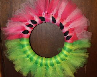 Watermelon Wreath